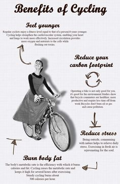 Burout article Audrey Hepburn on bike