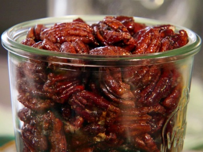 Cayenne-spiced Pecans