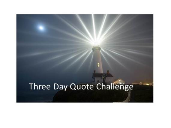 Three Day Quote Challenge 2