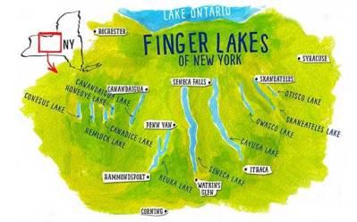 Finger Lakes Map