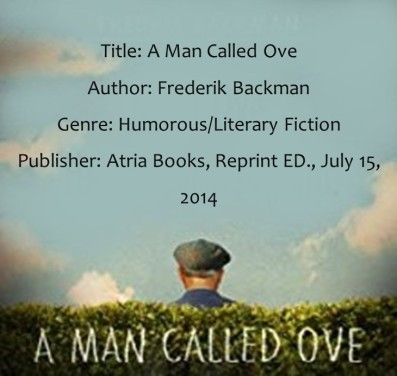 A Man Called Ove Book Details