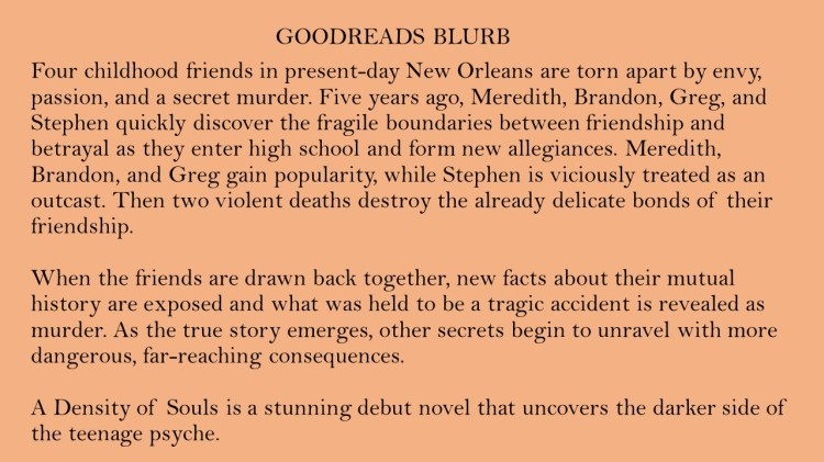 Christopher Rice Goodreads Blurb 7-11-2019