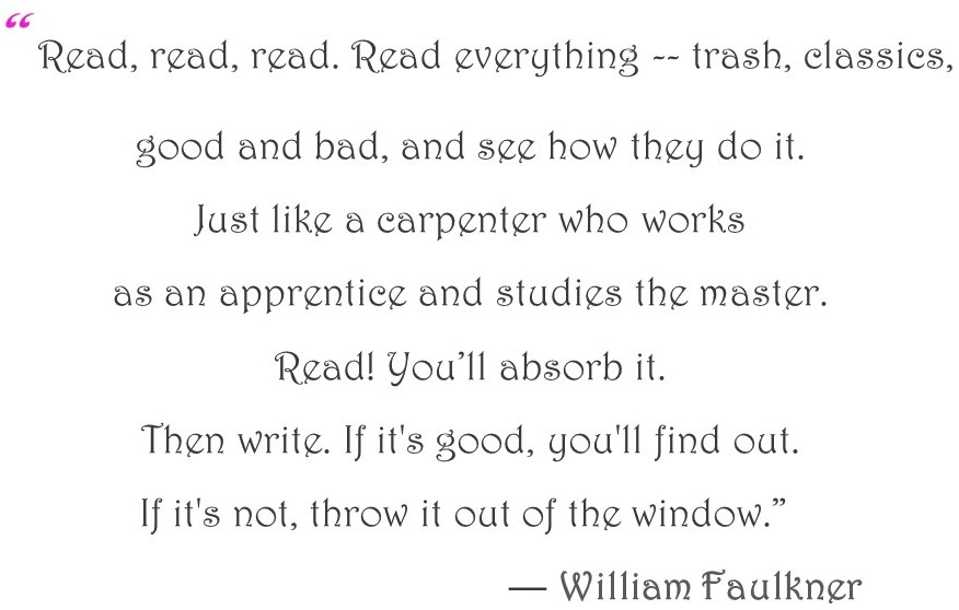 Quote by Faulkner 2