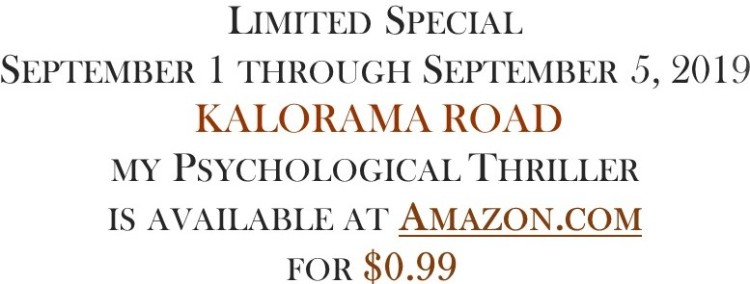 Kalorama Road Limited Special