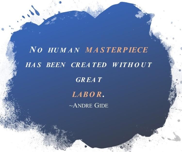 Labor Day Quote Blue