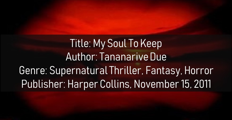 My Soul To Take Book Details