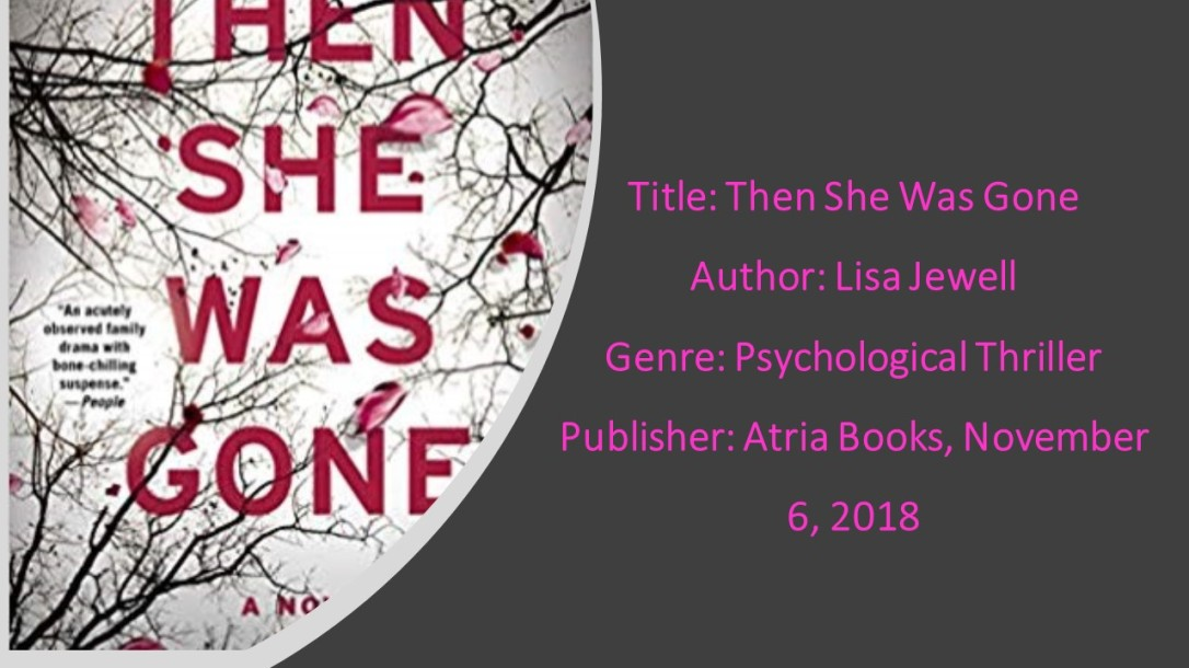 Then She Was Gone Book Details 2
