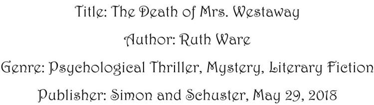 The Death of Mrs. Westaway Book Details 3