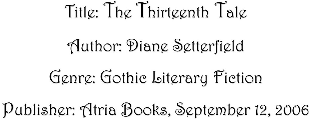 The Thirteenth Tale Details 3