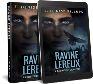 Book Cover Ravine-Lereux-Promo-Hardback-Ereader