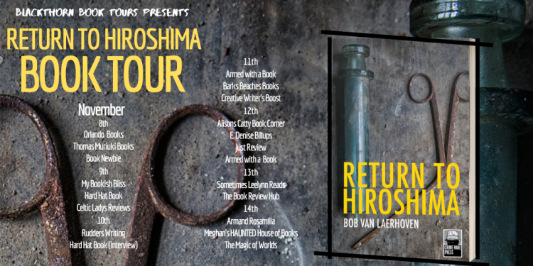 Return to Hiroshima Book Blog Tour Banner