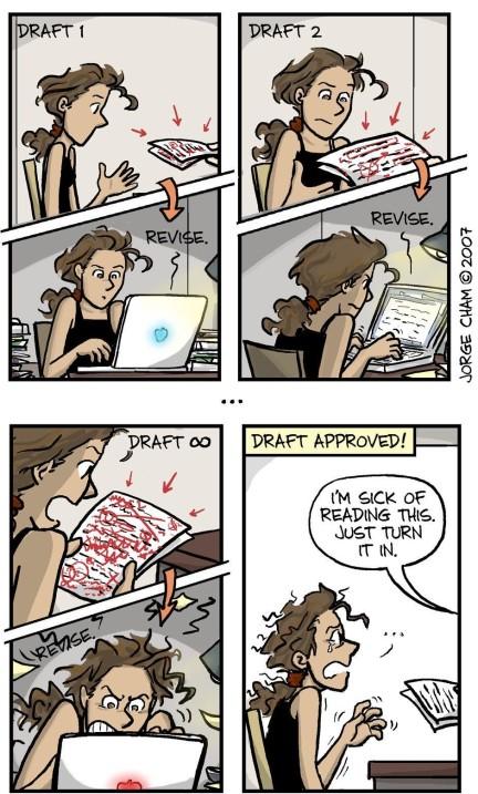 Comics on Writing