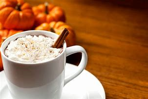 Image result for Fall Pumpkin Spice Latte